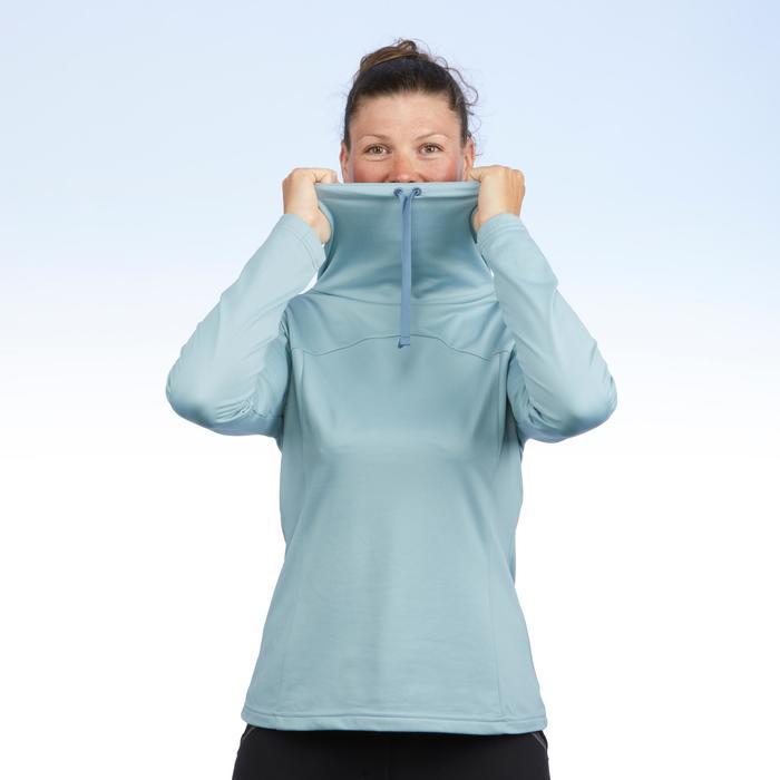 T-shirt voor wandelen in de sneeuw dames SH100 warm - 1503500