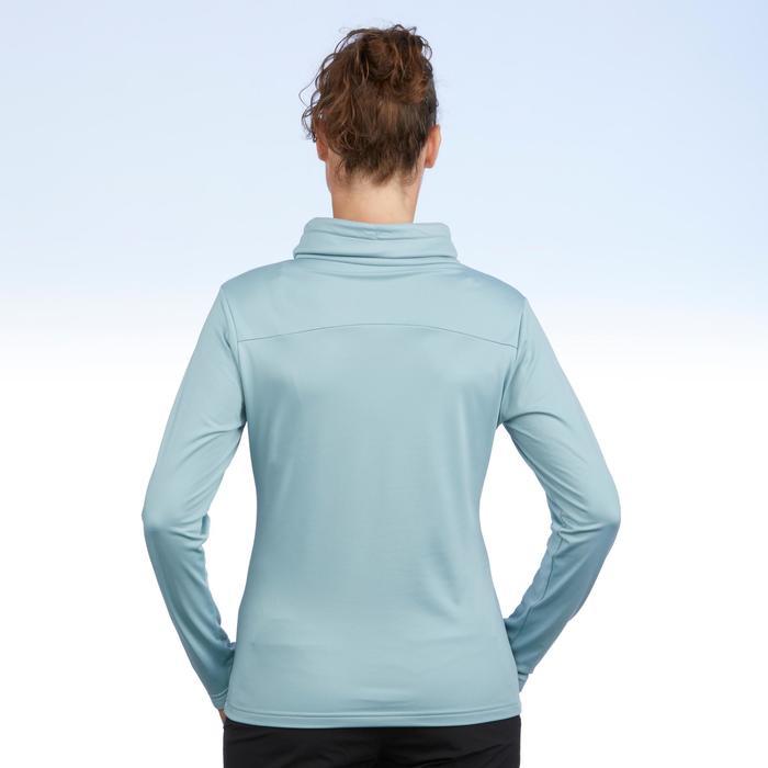 T-shirt voor wandelen in de sneeuw dames SH100 warm - 1503502