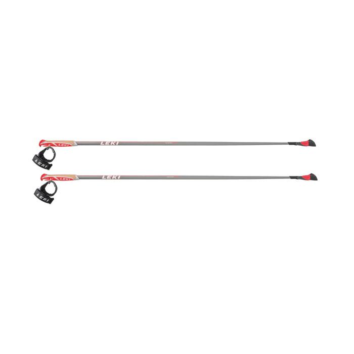 Nordic-Walking-Stöcke Smart Carat grau/rot