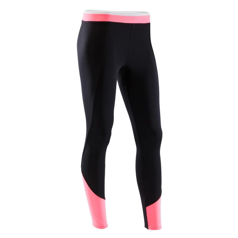 Bicolor Y Negro Mujer 120 Leggings Rosa Fitness Training Cardio wABY1Iq