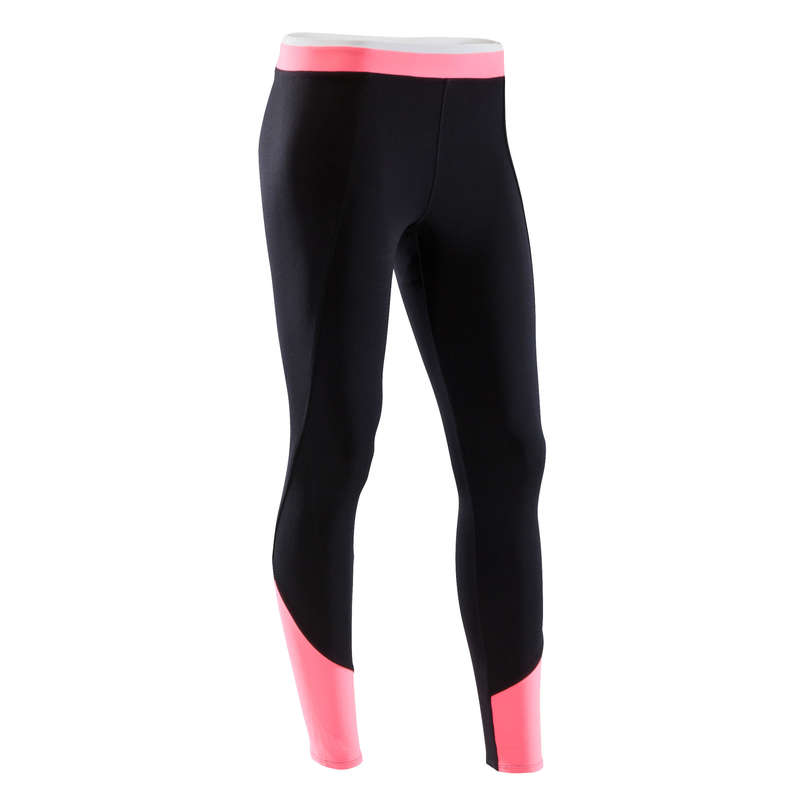 WOMAN FITNESS ENERGY APPAREL - 120 Cardio Fitness Leggings DOMYOS