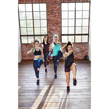 Débardeur fitness cardio-training femme vert menthe 500