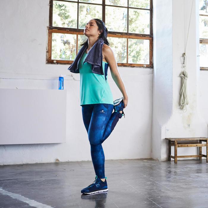 Débardeur fitness cardio femme 500 Domyos - 1503625