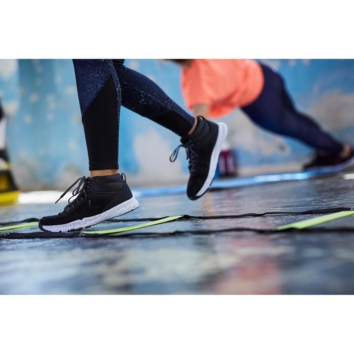 Chaussures fitness cardio-training 100 mid femme noir - 1503642