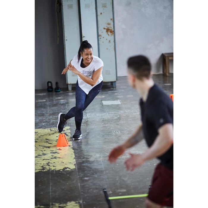 Chaussures fitness cardio-training 100 mid femme noir - 1503647