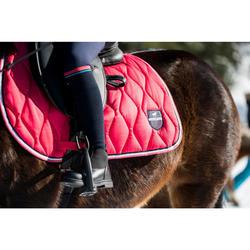 Zadeldek 500 ruitersport paard en pony roze