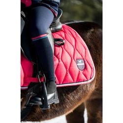 Boots chaudes équitation enfant 160 WARM noir