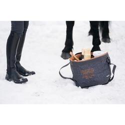 Botas cálidas equitación adulto LB 500 WARM negro
