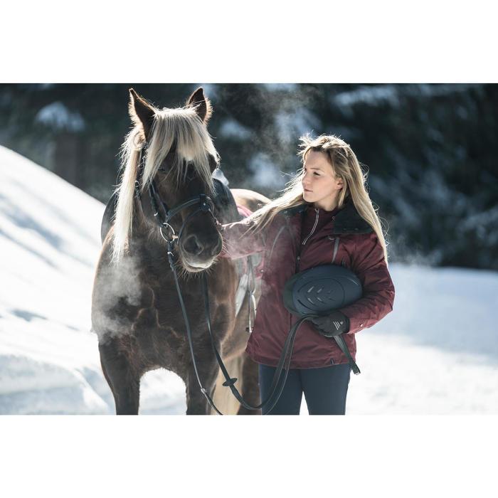 Winter-Reitjacke Tosca wasserdicht Damen bordeaux