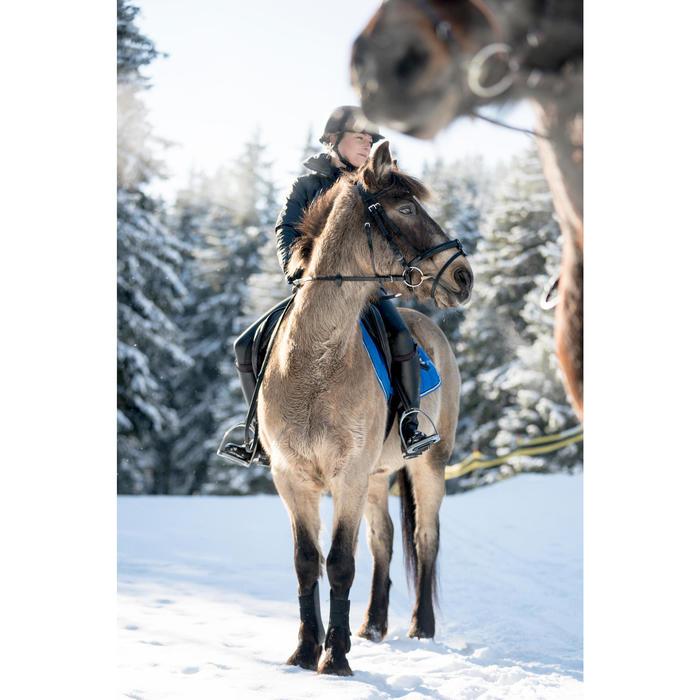 Zadeldek 500 ruitersport paard en pony felblauw