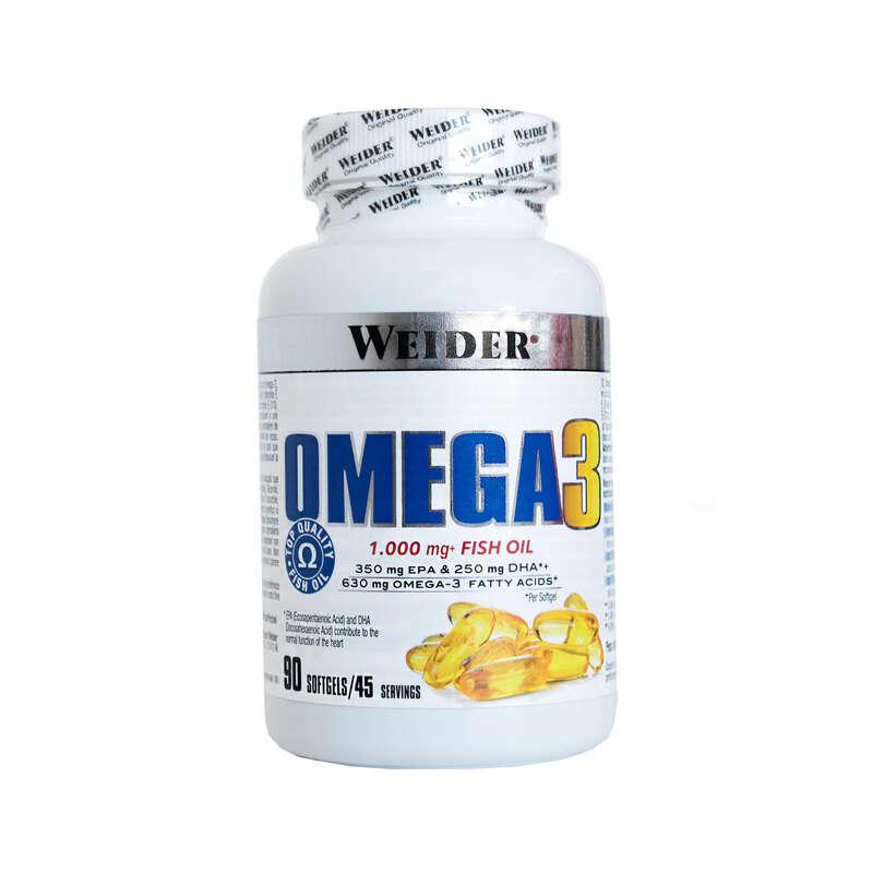 PROTEINE E COMPLEMENTI ALIMENTARI Proteine e complementi - Integratore OMEGA 3 90cps WEIDER - Boutique alimentazione 2019