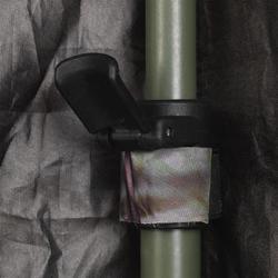 Opvouwbare loertent met dubbel scherm camouflage