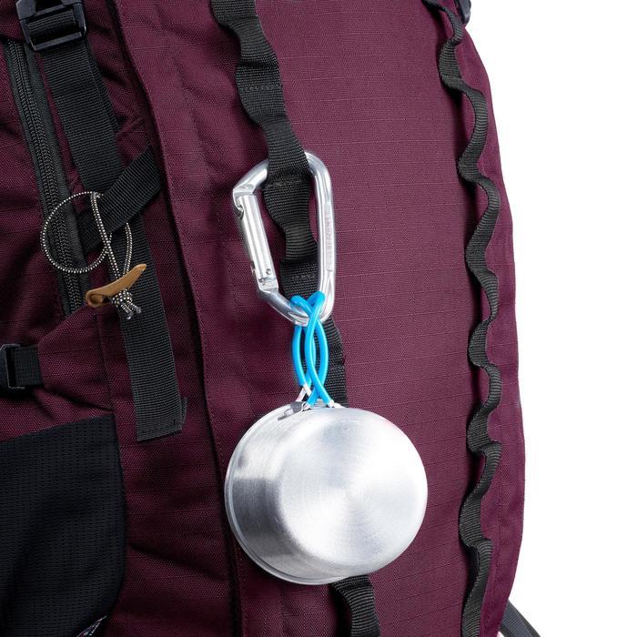 Trekkingrucksack Trek 900 mit 70+10 Liter Damen bordeaux