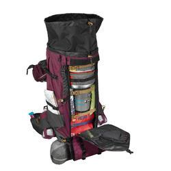 Backpack dames Trek 900 70 l +10 l Symbium bordeaux