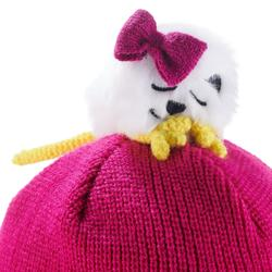 Skimütze Peru Kid Kinder Bär rosa