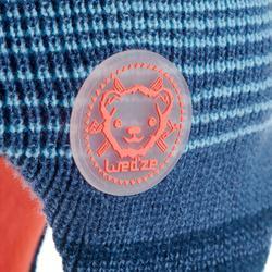 Skimütze Peru Kid Kinder Bär blau