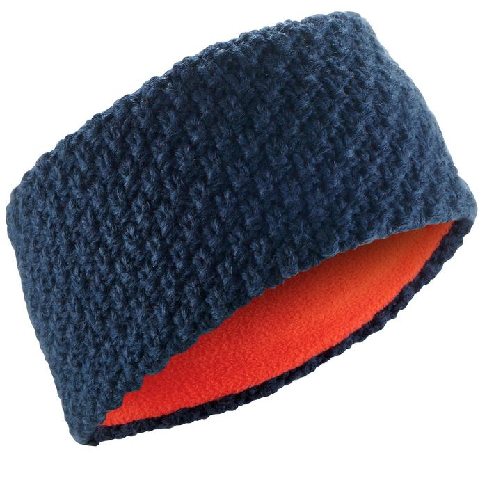 Stirnband Ski Timeless Kinder marineblau/orange