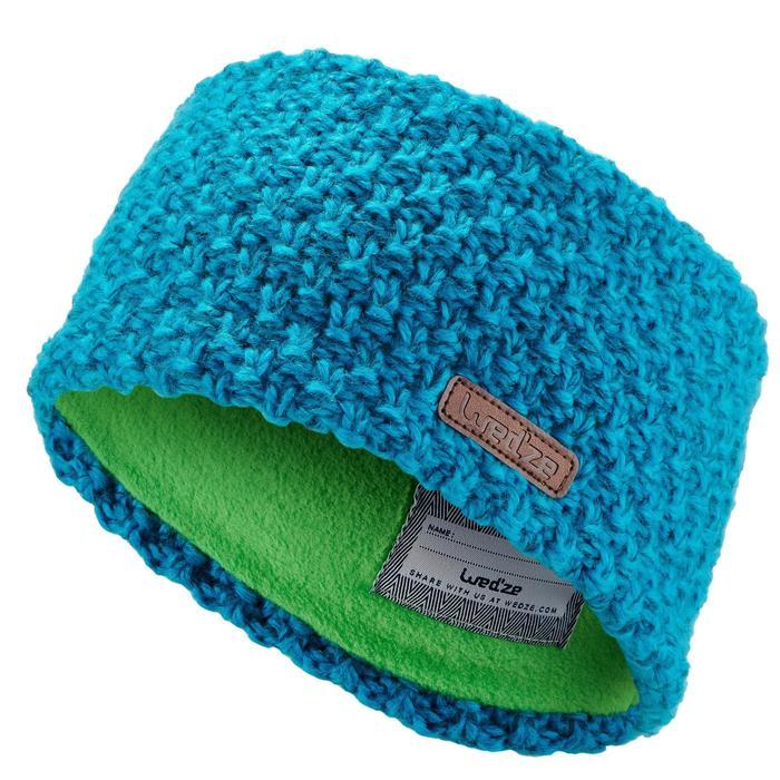 Stirnband Timeless Kinder blau/grün