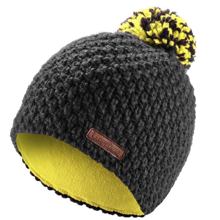 Skimütze Timeless Kinder schwarz/gelb