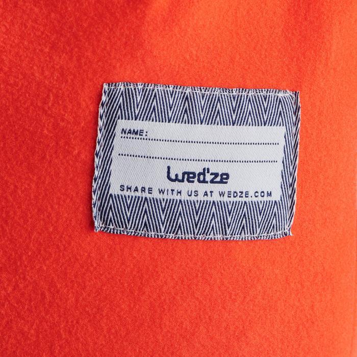 Skimuts voor kinderen Timeless marineblauw/oranje