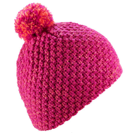 CHILDREN'S TIMELESS SKIING HAT - PINK