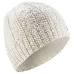 Children's Cable Knit Ski Hat - Cream