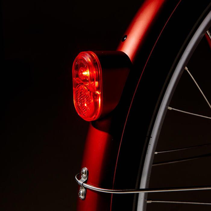 """E-Bike City Bike 28"""" Elops 900E LF tiefer Einstieg ziegelrot"""