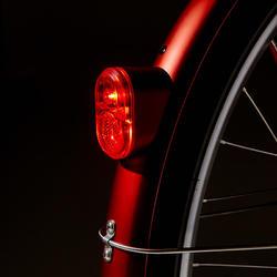 Elektrische stadsfiets Elops 900 E laag frame rood