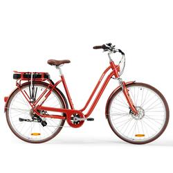 E-Bike Elops 900 tiefer Einstieg rot