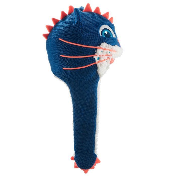 KID'S MONSTERCAT SKIING PERUVIAN HAT - BLUE