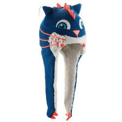 兒童防風遮耳滑雪帽Monstercat - 藍色
