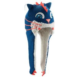 Monstercat Peruvian Children's Ski Hat - Blue