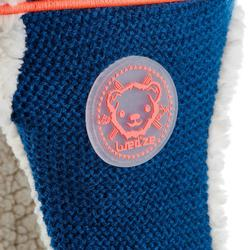 Skimütze Peruvien Monstercat Kinder blau