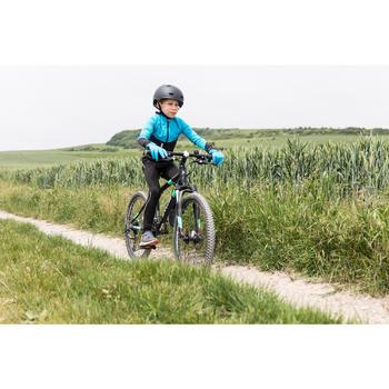 Fahrradjacke 500 Kinder schwarz/blau