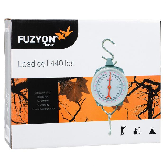 Dinamómetro Bascula Pesaje Caza Fuzyon 200 kg