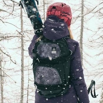 Skijacke Free 500 Damen violett