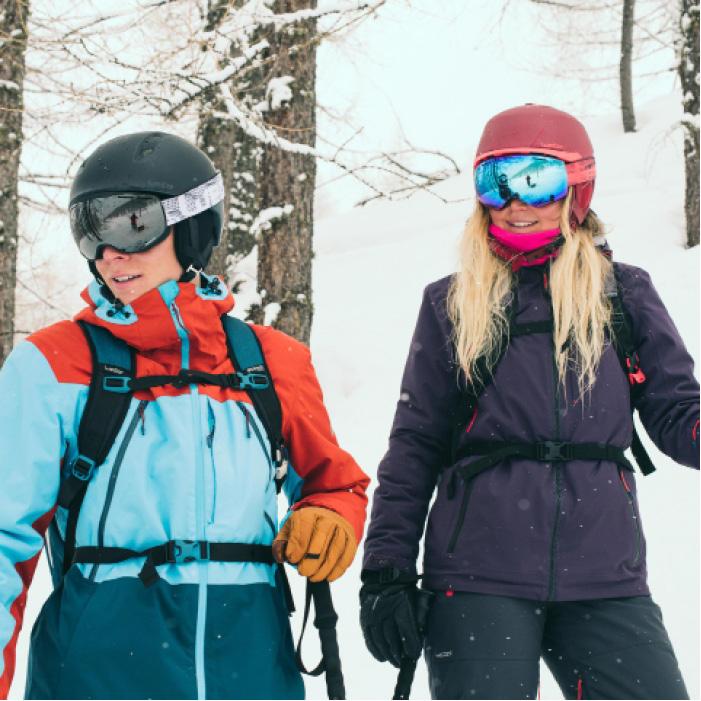Veste de ski freeride homme free 700 ketchup - 1504658