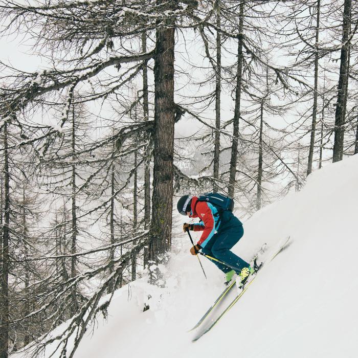 Veste de ski freeride homme free 700 ketchup - 1504663