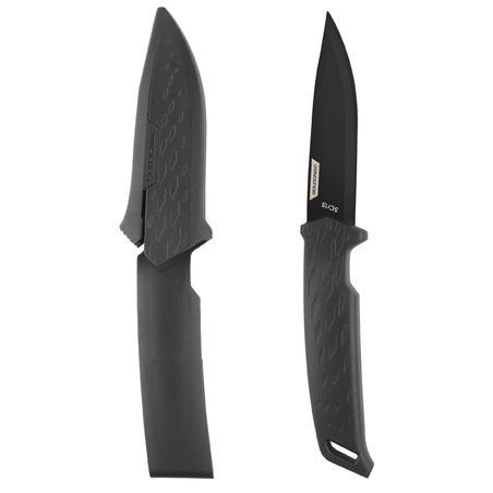 Couteau Fixe SIKA 100 POIGÉE Noire