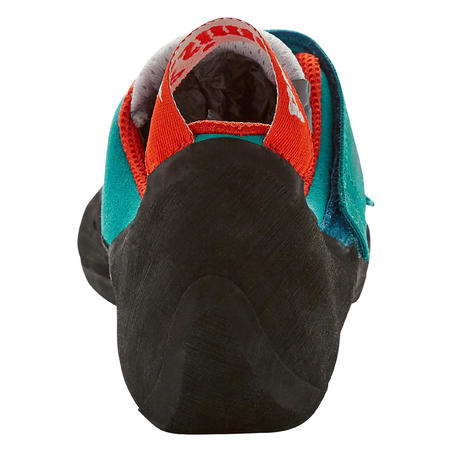CLIMBING SHOES  ROCK+ - TURQUOISE