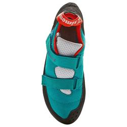 CHAUSSON D'ESCALADE - ROCK+ TURQUOISE