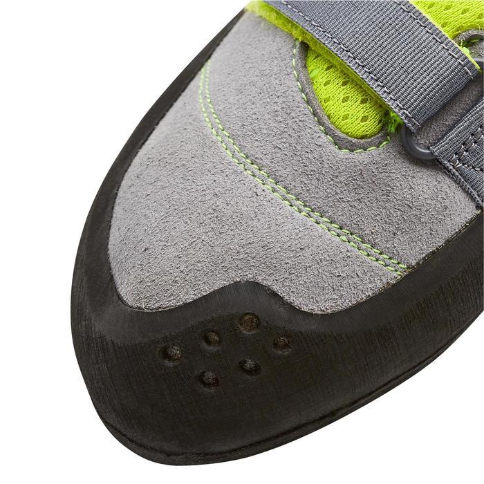 Klimschoenen Rock+ grijs