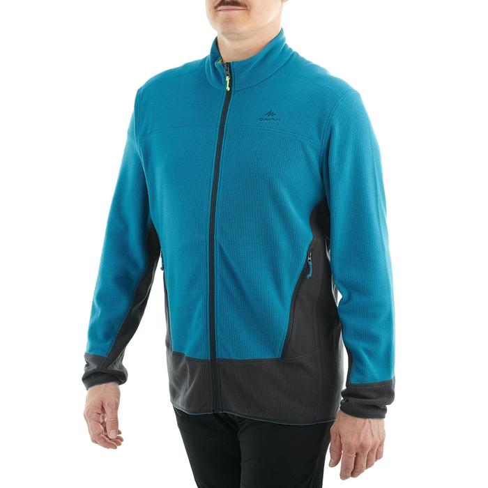 MH520 Mountain Hiking Fleece Jacket - Black