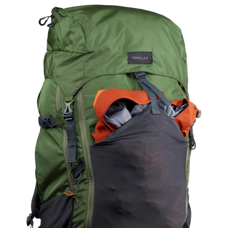 Trekking Backpack Men's Trek500 70+10L - Green