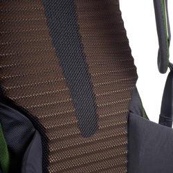 Trek 500 70+10L Men's Mountain Trekking Backpack - Green