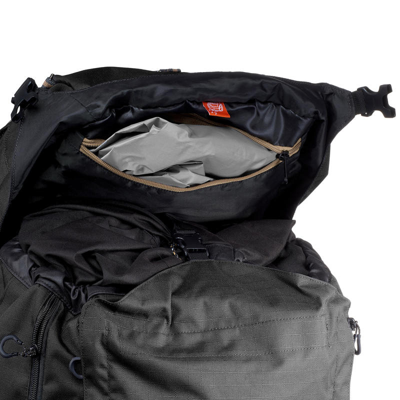 Men's mountain trekking rucksack _PIPE_ TREK 900 Symbium 70+10L - Dark Grey