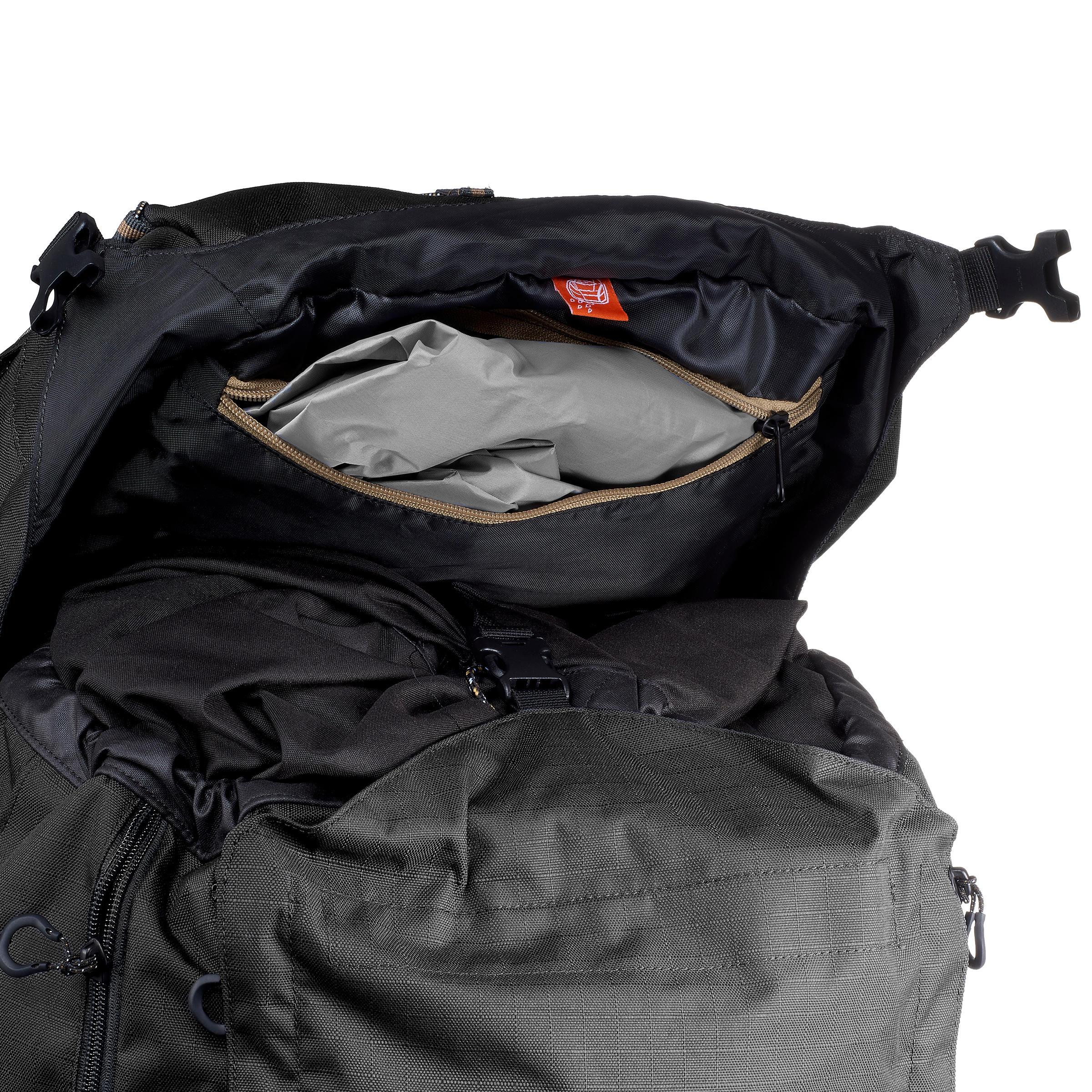 Trek900 Symbium 70L +10L Men's Mountain Trekking Backpack - Grey