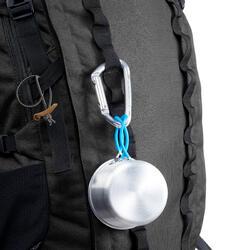 Rugzak voor bergtrekking heren Trek 900 Symbium - 70+10 l antracietgrijs