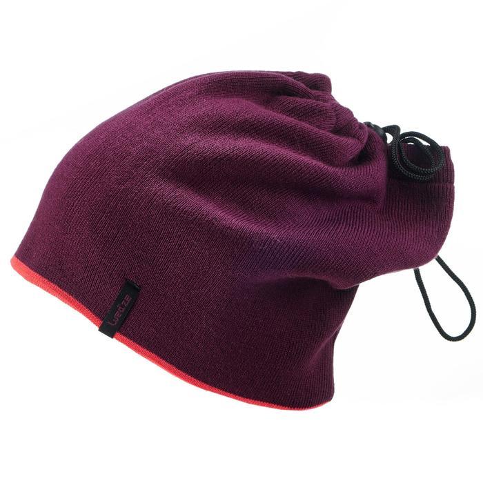 Schlauchschal wendbar Erwachsene rosa/violett