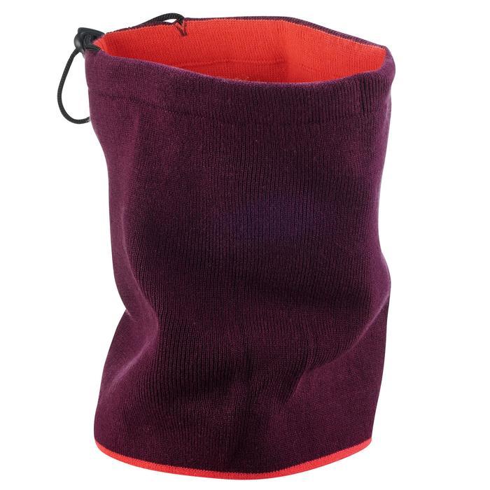 Nekwarmer voor volwassenen Reverse roze/violet